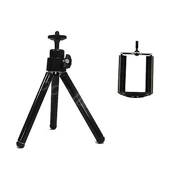 Rotatable Flexible Mini Bluetooth Tripod With Remote Control & Phone Clip