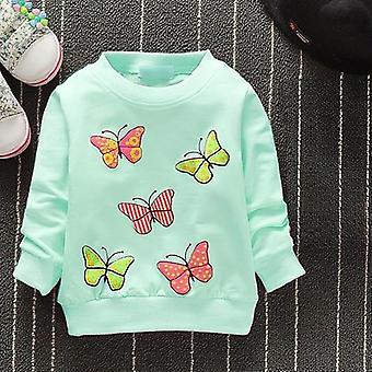 Baby Girls Sweatshirts Winter Spring Autumn Blouses Hoodies Cats Long Sleeves