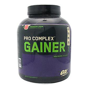 Optimum Nutrition PRO COMPLEX GAINER, Fraise 5.08 Lbs