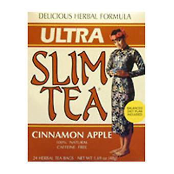 Hobe Labs Ultra Slim Tea, Kaneli Omena 24 Laukut