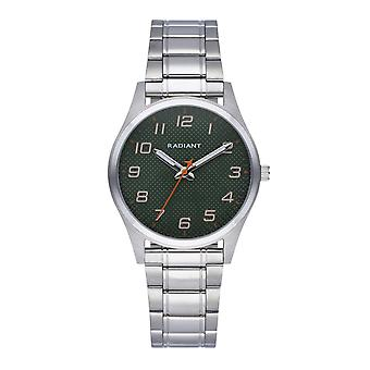 Radiant Carbon Watch for Analog Quartz Child with Stainless Steel Bracelet RA560202