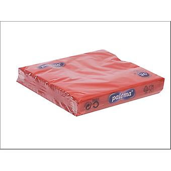 Essential Napkins 3ply Red x 20 33RE17