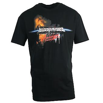 Balmain Apocalypse Logo T-Shirt noir