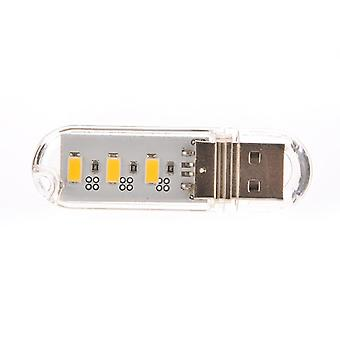 Mini Pocket Card Usb Power Led For Laptop And Pc Powerbank Night Lamp