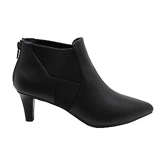 Easy Street Womens saint Leather Pointed Toe Ankle Fashion Boots