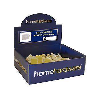 Home Label Auto Adesivos 30mm x 30nm (100) HE80L