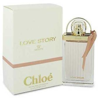 Chloe Love Story Por Chloe Eau De Toilette Spray 2.5 Oz (mujeres) V728-543804