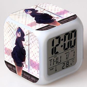 Colorful Multifunctional LED Children's Alarm Clock -DARLING no FRANXX #13