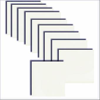 Inserto carta quadrata bianca gelida 140 x 140