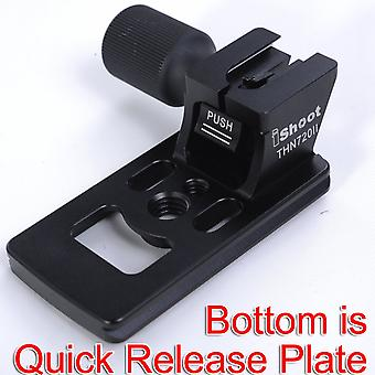 Ishoot metal udskiftning base fod stå adapter til Nikon af-s 70-200mm f/2.8e fl ed vr linse stativ