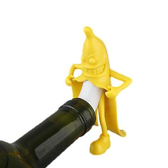Herr Banana Bottle Stopper
