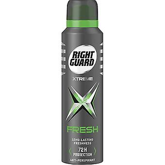 Right Guard 6 X Right Guard Xtreme Deodorant For Men - Fresh