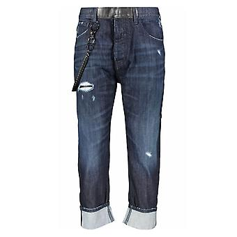 ארמני ג'ינס נוחות מתאים ג'ינס כחול כהה
