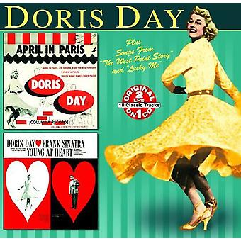 Doris Day - Young at Heart/April in Paris [CD] USA import