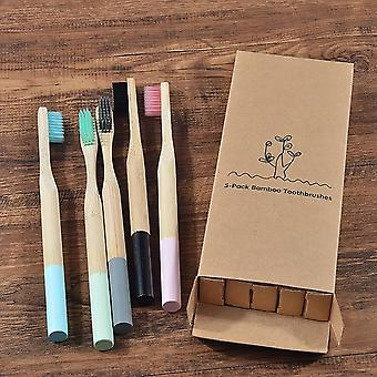 Eco-friendly Oral Care Biodegradable Bamboo Toothbrush