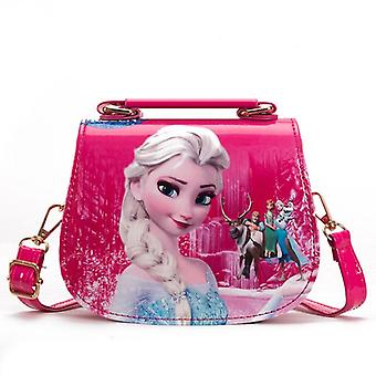 Frozen Princess Shoulder Bag Pu Cartoon Elsa Handbags Travel Outlet Crossbody