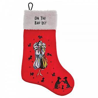 On The Bad List (Cruella De Vil) Stocking