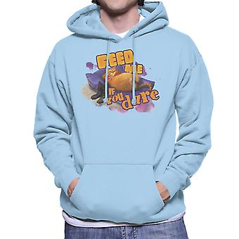 Shrek Puss In Boots Feed Me If You Dare Men's Hooded Sweatshirt