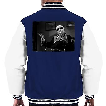 The Invisible Man Hands Up Men's Varsity Jacket