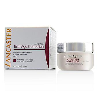 Total Age Correction Amplified - Anti-aging Day Cream & Glow Amplifier Spf15 - 50ml/1.7oz