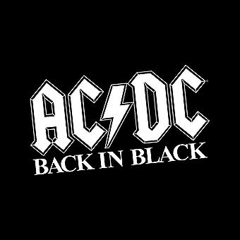 AC/DC Back In Black Men's Vest