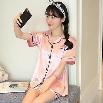 Sleepwear μακρύς/κοντός μανίκις μεγάλο μέγεθος πιτζάμες μόδας