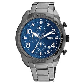 Fossil Men's Bronson Blue Dial Watch - FS5711