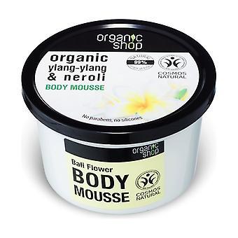 Organic Ylang-Ylang and Neroli Body Mousse 250 ml