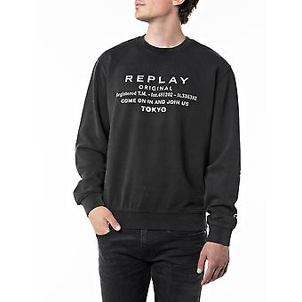 Replay Homme & s Sweatshirt Comfort Fit