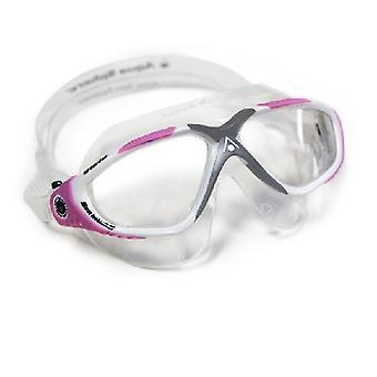 Aqua Sphere Vista Yüzme Gözlüğü Beyaz /Pembe- Net Lens