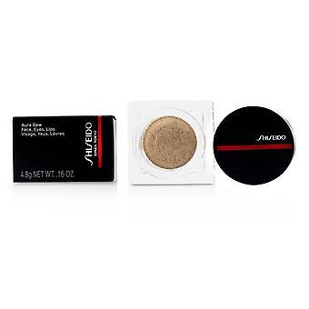 Shiseido Aura Dew Face  Eyes  Lips - # 02 Solar (Gold) 4.8g/0.16oz