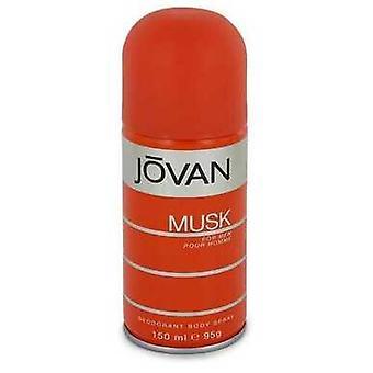 Jovan Musk Por Jovan Deodorant Spray 5 Oz (hombres) V728-543125