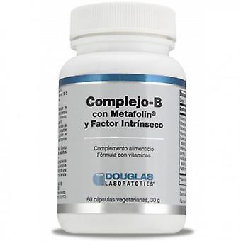 Douglas Complex B with Metafolin + Intrinsic Factor 60 Capsules