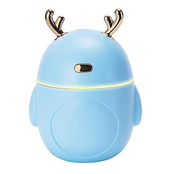 Umidificador com Iluminação, Chifre - Azul