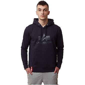 Alpha Industries Basic Hoody 17831207 sweat-shirts pour hommes universels