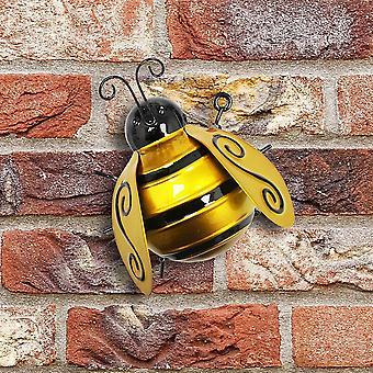 Primus suuri metalli kimalainen kotipuutarha roikkuu seinätaidetta