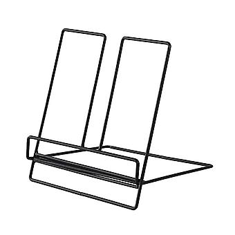 Multifunction Geometric Storage Rack Wrought Iron Organizer
