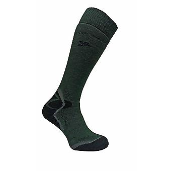 Mens Cushioned Merino Wool Knee High Hiking Socks