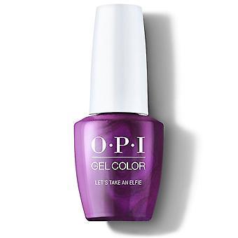 OPI Glanz bright Limited Edition Gel Farbe - Let's Nehmen Sie eine Elfie