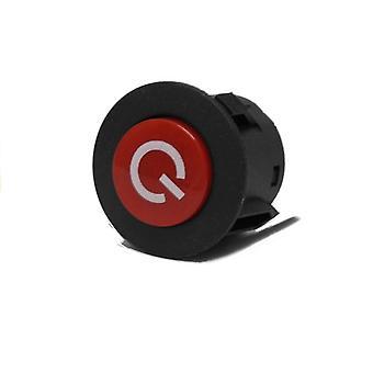 Knapp på/av-knapp för bilen på 26mm-batteriet