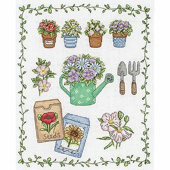Anchor Cross Stitch Kit: My Garden