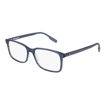 Montblanc MB0152O 007 Blue Glasses