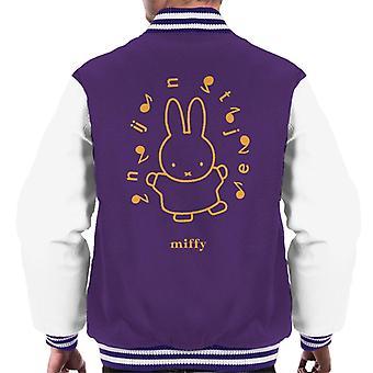 Nijntje Nijntje Muzieknoten Heren's Varsity Jacket