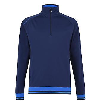 Oscar Jacobson Mens Half Zip Windshirt Jacket Sports Training Fitness Gym Casual