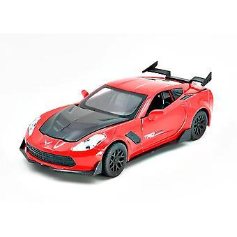 1:32 Corvette Supercar Modello Lega Auto (Rosso)