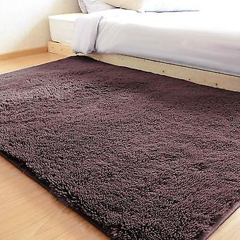 Gerui Area Rugs Faux Fur Rug Bedroom Carpet Super Soft Silky Smooth Mat And Fur Anti-Skid Fluffy