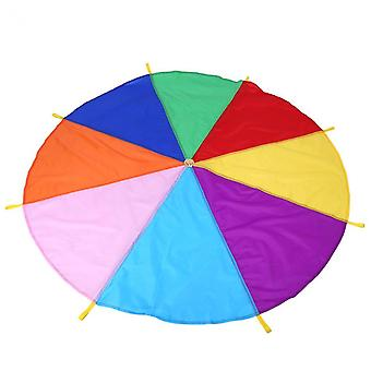 Kids Play Rainbow Parachute, Oxford Fabric Outdoor Game Toy, Exercise