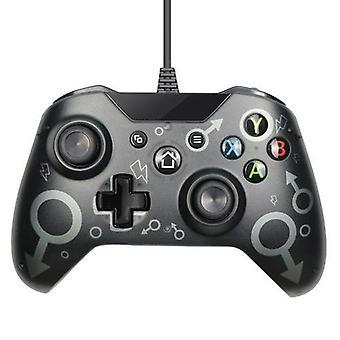 Ny trådlös Bluetooth Game Controller Gamepad Joystick för Microsoft Xbox USB Joystick (svart)