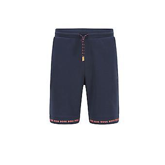 BOSS Athleisure Boss Headlo 1 Jersey Shorts Navy