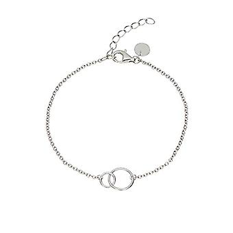 """OELANI Women's Bracelet in Silver 925 """"Circle"""